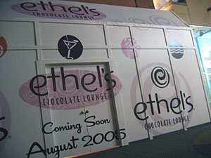 Coming Soon: Ethel's Chocolate Lounge