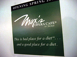 Coming Soon: Max's Opera Cafe