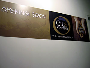 Coming Soon: Oil & Vinegar