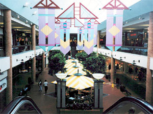 Inside the old Brickyard Mall