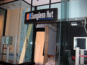 Previous Sunglass Hut Location