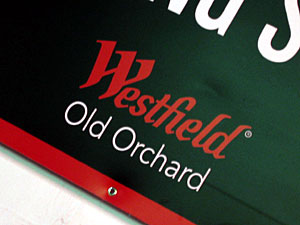 New Westfield Old Orchard branding